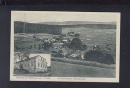 Tschechien AK Schwarzach Böhmerwald Gasthaus Zur Reichsgrenze - Sudeten