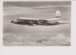Rppc BOAC B.O.A.C. British Overseas Airways Corporation Bristol175 Britannia Aircraft - 1946-....: Moderne