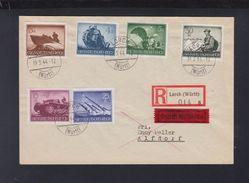 Dt. Reich Expres Brief 1944 Lorch Nach Alfdorf - Briefe U. Dokumente