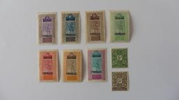 Afrique : Soudan :9 Timbres  Neufs Charnière - Soudan (1954-...)