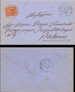 1893 Al Barone Tumminello Per Palermo Da Montevago   017 - 1900-44 Vittorio Emanuele III
