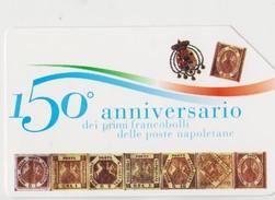 FRANCOBOLLI NAPOLETANI 150° ANNIVERSARIO - Italia