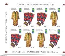 2017. Tajikistan, RCC, Folk Crafts Of Tajikistan, Sheetlet IMPERFORATED, Mint/** - Tadschikistan