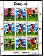 Soccer World Cup 1982 - PARAGUAY - Sheet MNH** - Coupe Du Monde
