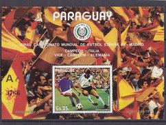 Soccer World Cup 1982 - PARAGUAY - S/S A MNH** - Coupe Du Monde