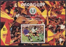 Soccer World Cup 1982 - PARAGUAY - S/S B MNH** - Coupe Du Monde