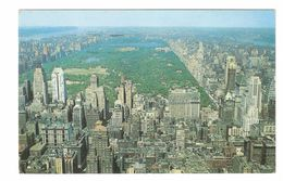 New York City - Looking North From R.C.A. Building Toward Central Park And Upper Manhattan - 1956 - Central Park