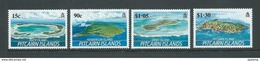 Pitcairn Islands 1989 Island Views Set Of 4 MNH - Stamps