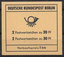 Berlin Juli 1970 / MiNr.  MH 7 A    Mit  H-Blatt 15    Ungeöffnet / Unopened    (mh1387) - Berlin (West)