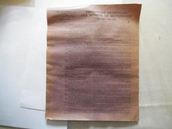 EPPEVILLE-HAM SOMME COMPAGNIE NOUVELLE DE SUCRERIES REUNIES CAMPAGNE 1932-1933 CONDITIONS GENERALES DES ACHATS DE BETTER - France