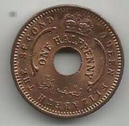 Nigeria 1/2 Penny 1959. KM#1 - Nigeria