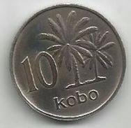 Nigeria 10 Kobo 1973. KM#10 - Nigeria