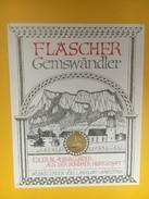 5162 - Fläscher Gemswänder Blauburginder Grisons Suisse - Etiquettes