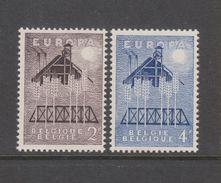 BELGIQUE COB 1025 / 1026 ** Neuf Sans Charnière MNH Cote 4,50 Euro - Europa-CEPT