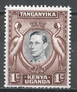 Kenya, Uganda & Tanzania 1942. Scott #66 (U) King George VI - Kenya, Uganda & Tanganyika