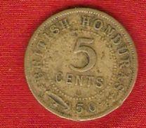 Belize - 1950 -  5 Cents  - George V - KM25 - Belize