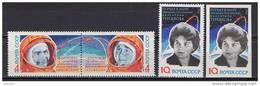 USSR Russia 1963 Space 4 Stamps MNH - UdSSR