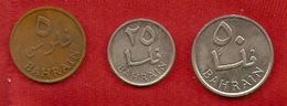 Bahrein - 1965 -  5, 25,50 Fils  - KM 2, 4, 5 - Belize