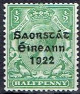 IRELAND  # FROM 1922  STAMPWORLD 29A* - Nuovi