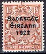 IRELAND  # FROM 1922  STAMPWORLD 31** - Nuovi