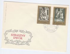 1972 POLAND FDC Stamps OPERA Cover Moniuszko Theatre Music - Music