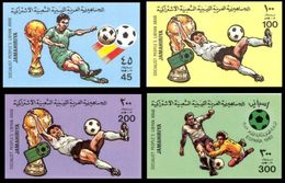 Soccer World Cup 1982 - LIBYA - Set Imp. MNH** - Coupe Du Monde