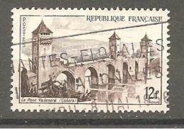 France Poste Obl Yv:1039 Le Pont Valentré (Cahors) - Francia