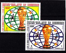 Soccer World Cup 1982 - CAMEROON - Set MNH** - Coupe Du Monde