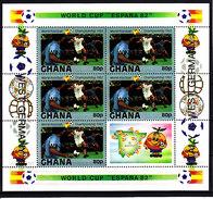 Soccer World Cup 1982 - GHANA - Sheet MNH** - Coupe Du Monde