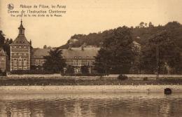 BELGIQUE - LIEGE - AMAY - FLONE - Dames De L'instruction Chrétienne - Vue Prise De La Rive Droite De La Meuse. - Amay