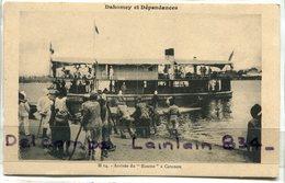 -  14 - DAHOMEY Et Dépendances - Arrivée  -du Roume à Cotonou, Super Animation, Peu Courante, TTBE, Scans.. - Dahomey