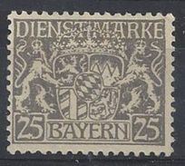 Bayern Dienst 1916-17  (*) MNG Mi.21y - Bavière