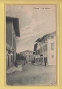 OLD POSTCARD ITALY - ITALIA  -  FANNA - VIA BELLINA - Pordenone