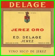 ETIQUETAS  BODEGAS  ED. DELAGE  JEREZ DE LA FRONTERA - Etiquetas