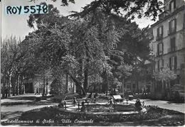 Campania-castellammare Di Stabia Villa Comunale Bella Animata Veduta Interno Villa Anni 50 - Castellammare Di Stabia