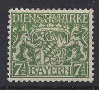 Bayern Dienst 1916-20  (*) MH Mi.25yc - Bavière