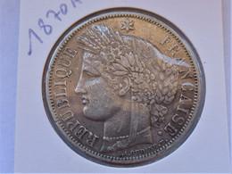 France 5 Francs 1870 A Met Legende - J. 5 Francs