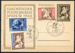 Deutsches REICH 1942- Sonderstempel  -  Europäischer Postkongress Wien - Deutschland