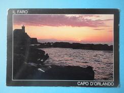 Capo D'Orlando - Messina - Controluce - Il Faro - Controluce