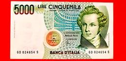 ITALIA - Banconota Circolata - 1985 - Vincenzo Bellini - Serie GD ... - 5000 Lire - [ 2] 1946-… : Républic