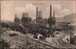 ! [57] Moselle Cpa, Old Postcard Hayange Patural, Industrie, Industry, Eisenbahn, Chemin De Fer, Hochofen, Stahl, Steel - Hayange