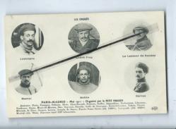 CPA - Paris Madrid - Les Engagés -Mai 1911 - Organisé Par Le Petit Parisien - ( Aviateurs ) - Aviateurs