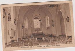 18  Gardefort L'interieur De L'eglise  Saint Martin - Autres Communes