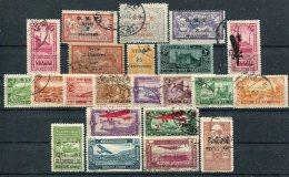Syrie          Lot  Divers Oblitérés Avec Poste Aérienne - Syrie (1919-1945)