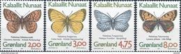 Groenland  Butterflies - Vlinders