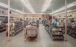 Orleans Massachusetts, Livingston's Pharmacy Interior View, Store Business, C1950s/60s Vintage Postcard - United States