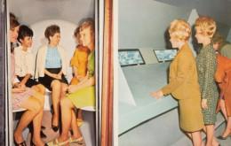 St. Louis Missouri, Gateway Arch 'A Visit To The Top' Women In Elevator, Observation Windows, C1960s Vintage Postcard - St Louis – Missouri