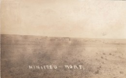 Winifred Montana, View Of Western Small Town On Prairie, C1910s Vintage Postcard - Stati Uniti