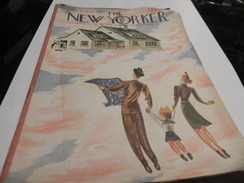THE NEW YORKER / JULY 20,1946. DISTRIBUTED TO THE ARMY BY SPECIAL SERVICE DIVISION A.S.F. - Forces Armées Américaines