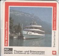Switzerland - Rugenbrau - Berner Oberland - Die Weisse Flotte - Sous-bocks